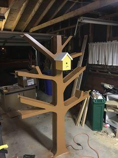 I decided to add a bird house night light
