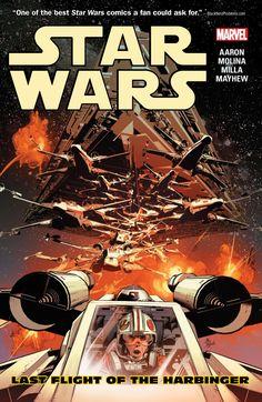 Star Wars Vol. 4: Last Flight of the Harbinger #TPB #Marvel @marvel @marvelofficial #StarWars (Cover Artist: Mike Deodato Jr) Release Date: 1/18/2017