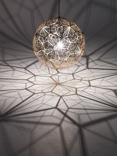 Etch Web lamp by Tom Dixon