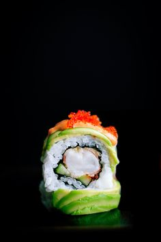 The Art Sushi . Delicious Food . Japanese