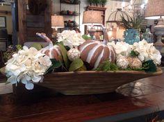 Decorated dough bowl..