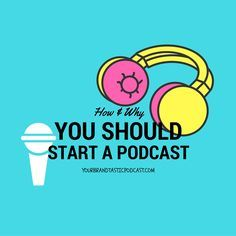 In this Episode Dina Marie Joy speaks to you about How and Why you should start a Podcast on Your Brandtastic Podcast with Dina Marie Joy.