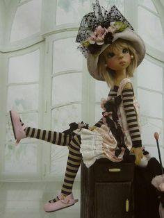 Layla - doll by Kaye Wiggs