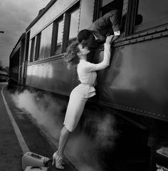 The Love Train....A Kiss Goodbye and then....Goodbye, my Love, goodbye!