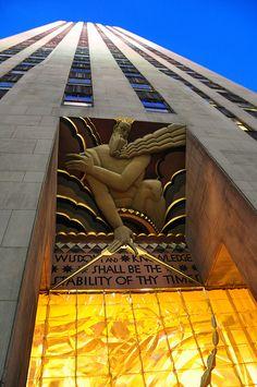 Rockefeller Center, Manhattan/ NYC
