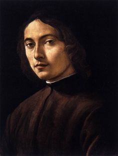 Portrait of a young man by Raffaellino del Garbo c. 1495