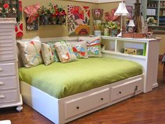 girls storage bed- Country Willow Furniture