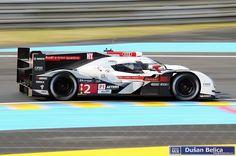 Audi e-tron quattro Andre Lotterer (D)/Marcel Fässler (CH)/Benoit Tréluyer (F) Marcel, Audi R18, 24h Le Mans, Benoit, Racing, Album, Vehicles, Car, Running