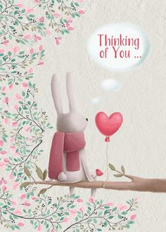 Send a cute rabbit in a tree to say thinking of you. Free online Cute Rabbit Thinking Of You ecards on Everyday Cards Happy Day, Are You Happy, Thinking Of You Quotes, Really Sorry, Big Hugs, Blog Sites, Name Cards, Say Hi, Card Sizes
