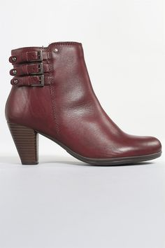 Pikolinos Verona Basic Mid Boot in Garnet