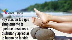 DISFRUTA...  (((Sesiones y Cursos Online www.ciaramolina.com #psicologia #emociones #salud)))