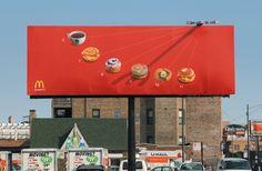 "advertisingpics: ""McDonalds sun clock from 2006. Agency: Leo Burnett, Chicago. [1997x1305] "" Old school but still works."