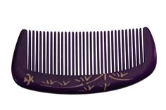 Tan's Natural Dyed Wooden Comb Purple 7-9 * This is an Amazon Affiliate link. Want to know more, click on the image.