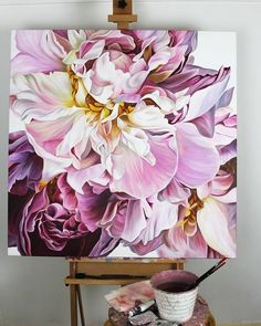 Oil Painting Flowers Art Easy Watercolor Sunflower Masking Fluid On Canvas Metal Flower Wall Art Green Canvas Wall Art Watercolor Sunflower, Watercolor Flowers, Watercolor Paintings, Easy Watercolor, Abstract Flowers, Metal Flower Wall Art, Flower Art, Peony Flower, Oil Painting Flowers