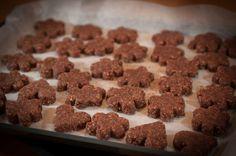 Brunsli - Swiss Christmas cookies