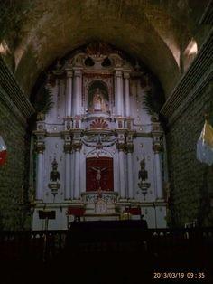 My travel.  St. Isabel's Church.  Pukara, Peru