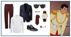 What Disney Princes would wear today   Disney-inspired menswear   Prince Charming   [ https://style.disney.com/fashion/2016/06/21/what-disney-princes-would-wear-today/ ]