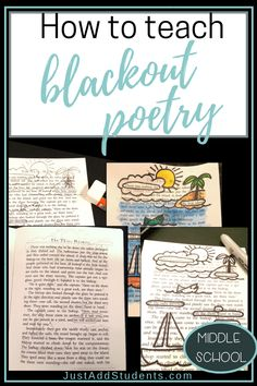 How to Teach Blackout Poetry - Just Add Students