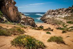 Moon Valley, Capo Testa, Sardinia. www.italianways.com/the-moon-valley-traces-of-a-dream/