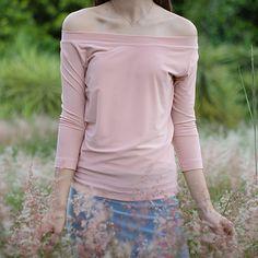 Shoulder Length, Off The Shoulder, Shirt Sleeves, Slim, Tops, Dresses, Women, Fashion, Vestidos