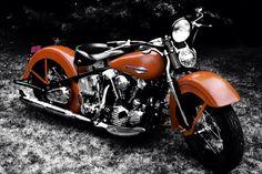 1940 Harley Davidson Knucklehead