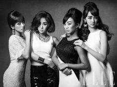 Sistar // Elle Korea // July 2013