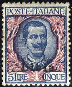 Italian Libya 1912/15, 1° emissione, 12 valori, 3 alti valori cert. Caffaz, Sassone 1-12 / 3000,-    Dealer  Viennafil Auctions    Auction  Minimum Bid:  600.00EUR