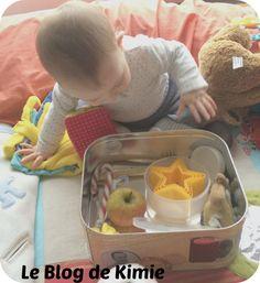 Mes paniers Montessori Comment occuper bébé quand on fait la cuisine ! Activité bébé à partir de 7 ou 8 mois