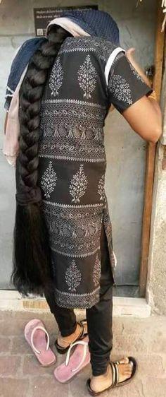Long Hair Beautiful Braids, Beautiful Long Hair, Gorgeous Hair, Long Indian Hair, Rapunzel Hair, Natural Hair Styles, Long Hair Styles, Super Long Hair, Cut My Hair