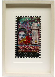 The Edge of Me €395.00 Frames On Wall, Framed Wall Art, Mixed Media, Urban, Artwork, Home Decor, Work Of Art, Mixed Media Art, Interior Design