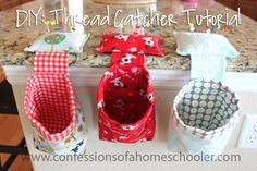 Good morning! I hope you are all ready for a home economics lesson today because I'm sharing a tutorial for an easy thread catcher. My girls each made one for their new sewing machines and I made one too! So what is a thread catcher? It's basically a super cute trash can with a weighted pin cushion on top. These…