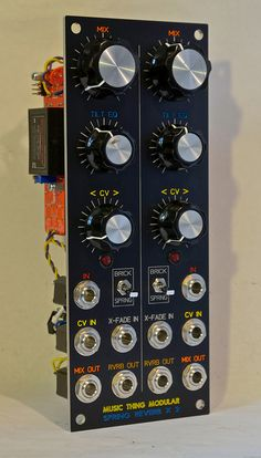 Thonk Music Thing Dual Spring Reverb profile | Flickr - Photo Sharing!