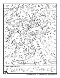 Coloring Pages, Coloring Sheets, Colouring, Hidden Pictures Printables, Find The Hidden Objects, Hidden Picture Puzzles, Hippie Painting, Visual Memory, Wedding Tattoos