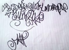 graffiti alphabet Graffiti Font Style, Graffiti Lettering Fonts, Graffiti Alphabet, Hand Lettering, Typography, Image Font, Calligraphy Alphabet, Pet Peeves, Handwriting Fonts