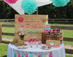 Very Sweet Cowgirl Party