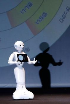 Pepper, the home and family robot.