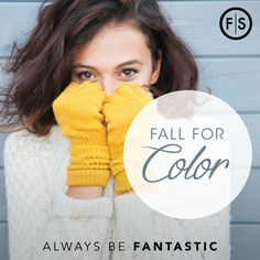 Pumpkin and spice and everything nice - Fall for Color at the FS Color Event. https://www.fantasticsams.com/