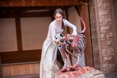 Puppets in the 2013 Globe production of 'The Tempest'