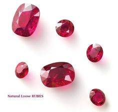 You imagine. We design. Check out Linara's Big Three Gemstone Collections. Natural Loose RUBIES.