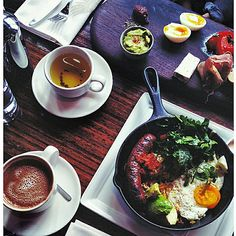 Brunch at Chambar Restaurant, downtown Vancouver