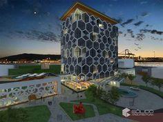 Proyecto ejecutivo Ferris Wheel, Fair Grounds, Travel, Offices, Buildings, Blue Prints, Houses, Viajes, Destinations