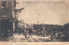 Verona - Ingresso delle truppe Italiane - 16 ottobre 1866