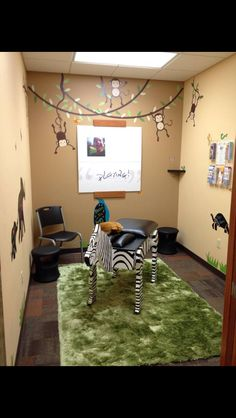 pediatric chiropractic- my future office Chiropractic Office Decor, Chiropractic Therapy, Chiropractic Clinic, Chiropractic Wellness, Chiropractic Treatment, Family Chiropractic, Clinic Design, Healthcare Design, Office Themes