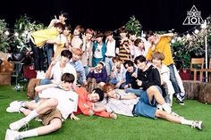 Read Reuni Akbar from the story Grup Chat ✔ by mingyuiane (Gyu) with reads. Oh iya sebelumnya gue ma. Hyun Young, Produce 101, Korean Outfits, Read News, Photo Cards, Boy Groups, Dolores Park, Wattpad, Boys