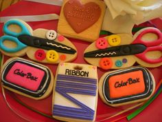 More Scrap Booking Cookies | Cookie Connection