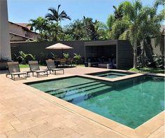 Backyard Pool Landscaping, Backyard Pool Designs, Small Backyard Pools, Small Pools, Swimming Pools Backyard, Swimming Pool Designs, Lap Pools, Indoor Pools, Pool Decks