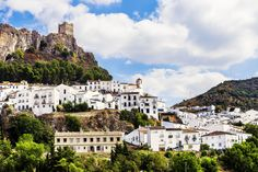 For a break from the beach crowds along the Costa del Sol, head into the mountainous countryside of . The Places Youll Go, Cool Places To Visit, Spain Travel Guide, Paraiso Natural, Spanish Towns, Sierra, The Good Place, Travel Inspiration, Beautiful Places