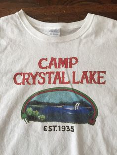 6243335f This item is unavailable. Camp Crystal Lake Shirt, Camp Counselor ...