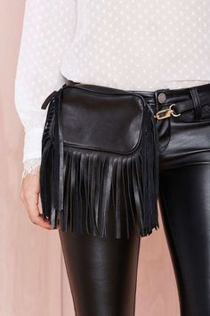 B-Low the Belt Leather Bag | Shop What's New at Nasty Gal