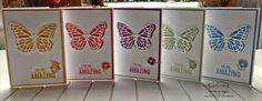 Barbaras Kreativ-Studio : Schmetterlinge über Schmetterlinge - Tipps und Tricks zum Ausstanzen